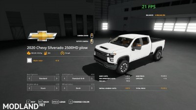 2020 Chevy plow truck v 1.0, 1 photo