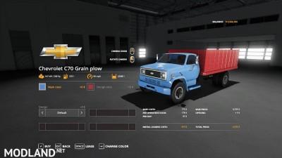 Chevy C70 grain plow truck v 1.0, 1 photo