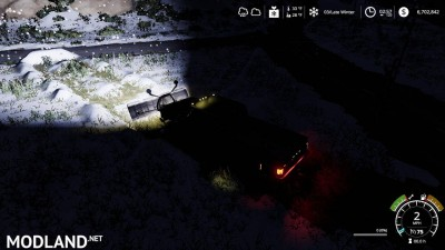 Chevy K30 dually snow plow v 1.0, 7 photo