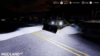 Chevy K30 dually snow plow v 1.0, 9 photo