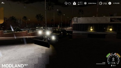Chevy K30 dually snow plow v 1.0, 1 photo