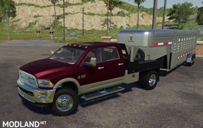 Dodge Ram 3500 Flatbed V 1.0, 1 photo