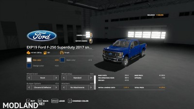 Ford f250 snow plow v 1.0, 2 photo