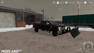 Ford f250 snow plow v 1.0, 5 photo