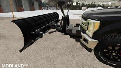 Ford f250 snow plow v 1.0, 6 photo