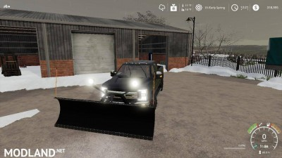Ford f250 snow plow v 1.0, 7 photo