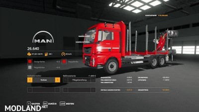 Forst LKW MAN MP v 1.3, 12 photo