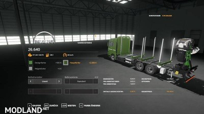 Forst LKW MAN MP v 1.3, 3 photo