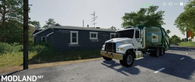 Freightliner F114SD Garbage Truck v 1.0, 3 photo