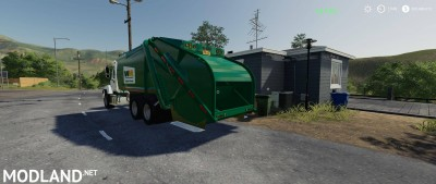 Freightliner F114SD Garbage Truck v 1.0, 4 photo