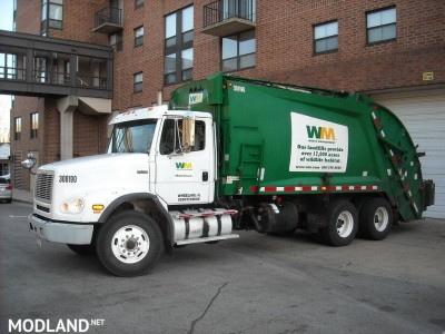 Freightliner F114SD Garbage Truck v 1.0, 5 photo