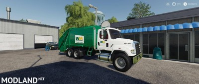 Freightliner F114SD Garbage Truck v 1.0, 1 photo