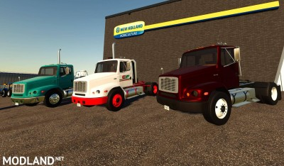 Freightliner FL112 Day Cab Truck v 1.0, 1 photo