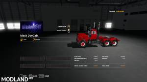 FS19 Mack Daycab and Sleeper, 1 photo