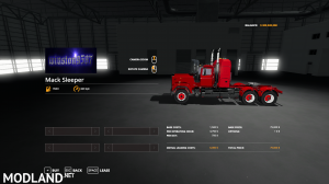 FS19 Mack Daycab and Sleeper, 2 photo