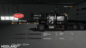 Pete 389 Heavy VE Update