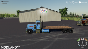 Fs19 Peterbilt Flatbed, 1 photo