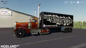 FS19 Peterbilt Service Truck - Direct Download image