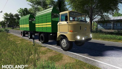 IFA W50 Grain Construction v 1.0, 5 photo