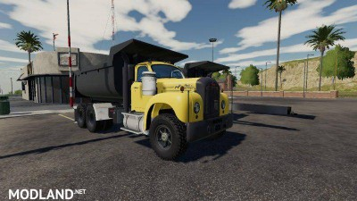 Mack B61 Dump and Trailer v 1.0.5, 2 photo