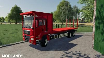 MAN TGS 18.500 Bale Transport AutoLoad v 1.0, 2 photo