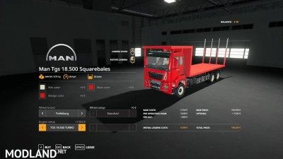 MAN TGS 18.500 Bale Transport AutoLoad v 1.0, 5 photo