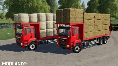 MAN TGS 18.500 Bale Transport AutoLoad v 1.0, 1 photo