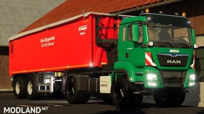 Man Tgs Agro Truck v 1.0, 3 photo