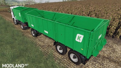 Man TGS AgroTruck and Kroger HKD Pack v 1.0, 2 photo