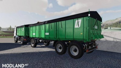 Man TGS AgroTruck and Kroger HKD Pack v 1.0, 4 photo