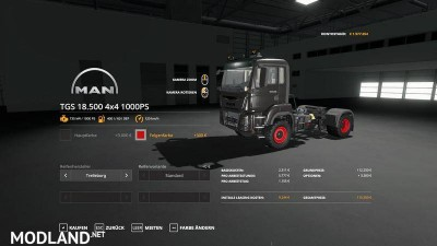 MAN TGS18500 - 1000hp v 1.0