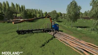 MAN TGX Forest Semitrailer Pack v 1.0, 2 photo