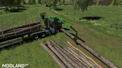 MAN TGX Forest Semitrailer Pack v 1.0, 4 photo