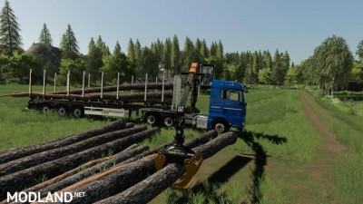 MAN TGX Forest Semitrailer Pack v 1.0, 1 photo