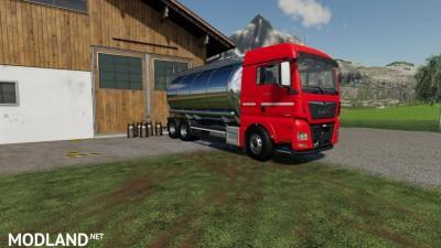 MAN TGX Tanker Truck v 1.0, 1 photo