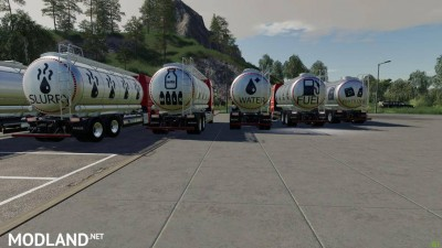 MAN TGX Tanker Truck v 1.0, 4 photo