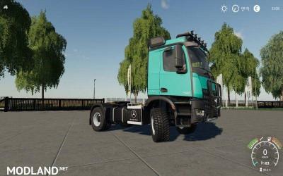 Mercedes Arocs Agrar v 1.0