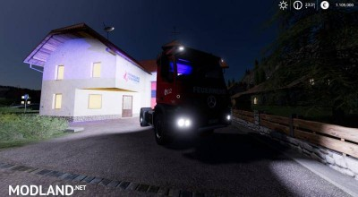 Mercedes Benz Fire Department Edition v 1.0, 2 photo