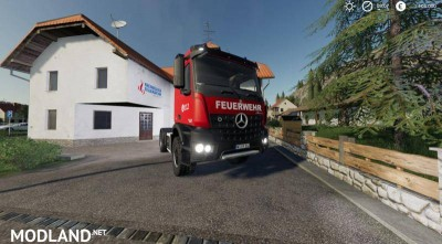 Mercedes Benz Fire Department Edition v 1.0, 3 photo