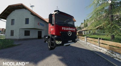 Mercedes Benz Fire Department Edition v 1.0, 1 photo