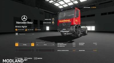Mercedes Benz Fire Department Edition v 1.1, 3 photo