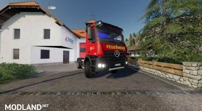Mercedes Benz Fire Department Edition v 1.1