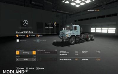 Mercedes Zetros 3643 6x6 v 1.0, 2 photo