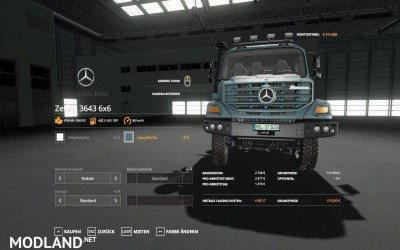 Mercedes Zetros 3643 6x6 v 1.0, 1 photo