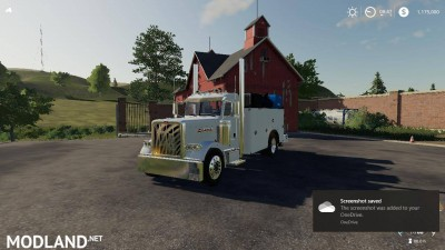 PETE 389 SERVICE TRUCK REUPLOAD v 1.1, 1 photo