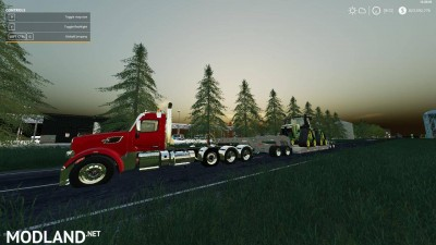 Pete 567 Heavy Haul v 1.0, 3 photo