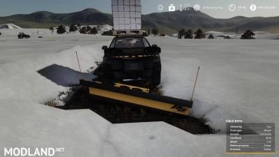 Pickup 2014 snow plow v 1.0, 2 photo