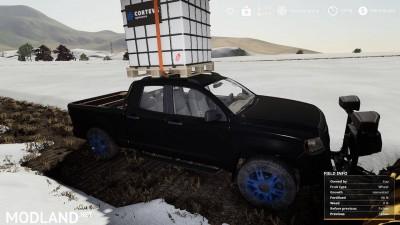 Pickup 2014 snow plow v 1.0, 3 photo
