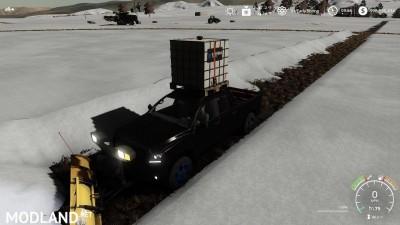 Pickup 2014 snow plow v 1.0, 6 photo