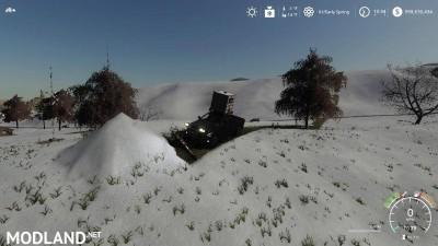 Pickup 2014 snow plow v 1.0, 8 photo